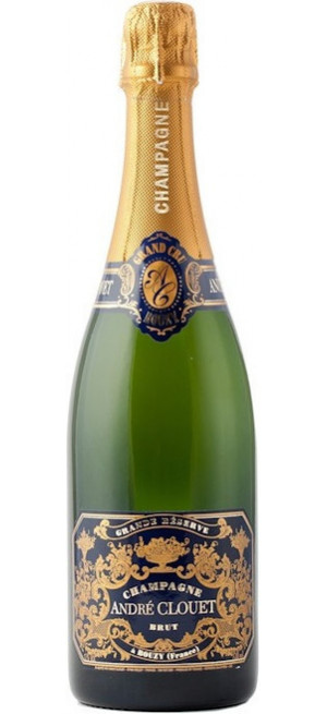 "Шампанское Andre Clouet, ""Grande Reserve"" Brut, Champagne AOC, 0.75 л"