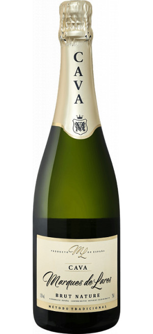 "Игристое вино ""Marques de Lares"" Brut Nature, Cava DO, 0.75 л"