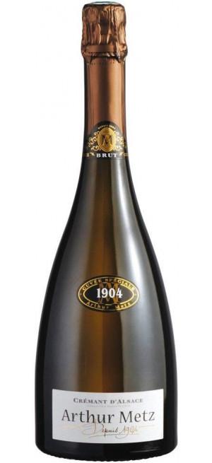 Игристое вино Arthur Metz Cremant d'Alsace Cuvee Speciale 1904, 0.75 л