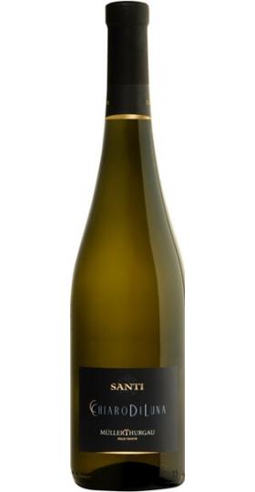 "Игристое вино Santi, ""Chiaro di Luna"" Muller-Thurgau, Trevenezie IGT, 2017, 0.75 л"