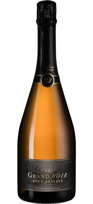 """Игристое вино """"Le Grand Noir"""" Brut Reserve, Languedoc AOP, 0.75 л"""