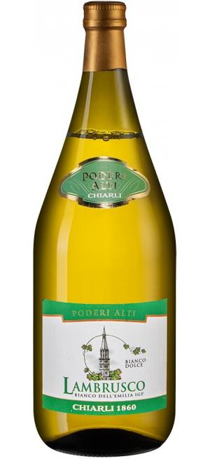Игристое вино Lambrusco Dell'Emilia Poderi Alti IGT, 1.5 л