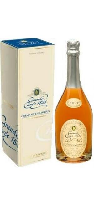 "Игристое вино ""Grande Cuvee 1531"" de Aimery Cremant de Limoux Rose, gift box, 0.75 л"