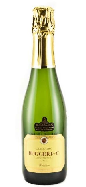 Игристое вино Ruggeri, Prosecco Valdobbiadene Giall'Oro DOCG, 375 мл
