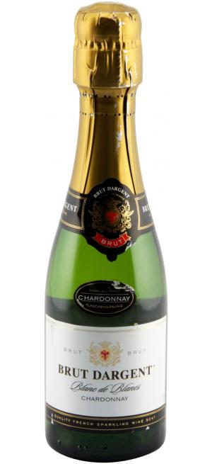 """Игристое вино """"Brut Dargent"""" Blanc de Blanc Chardonnay, 375 мл"""