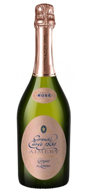 "Игристое вино ""Grande Cuvee 1531"" de Aimery Cremant de Limoux Rose, 0.75 л"