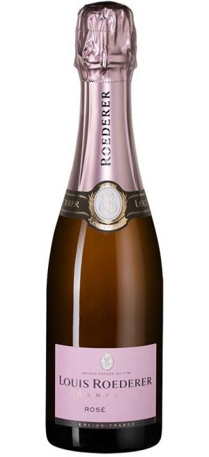 Шампанское Louis Roederer, Brut Rose AOC, 2014, 375 мл