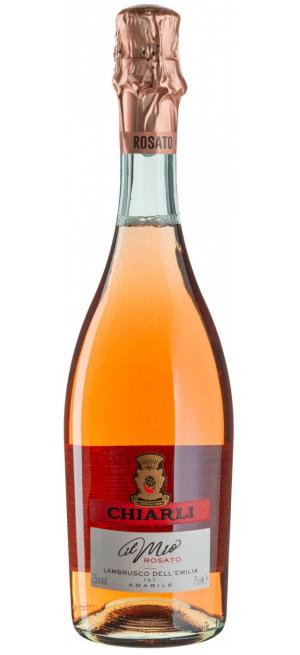 Игристое вино Chiarli, Lambrusco dell 'Emilia IGT Rosato, 0.75 л