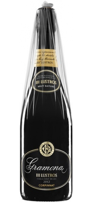 """Игристое вино Gramona, """"III Lustros"""" Brut Nature, Cava DO, 2012, 0.75 л"""
