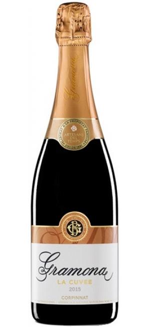 "Игристое вино Gramona, ""La Cuvee"" Brut, Cava DO, 2015, 0.75 л"