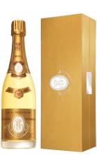"""Шампанское """"Cristal"""" AOC, 2002, gift box, 0.75 л"""
