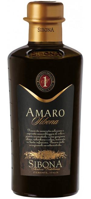 Ликер Sibona, Amaro, 0.5 л