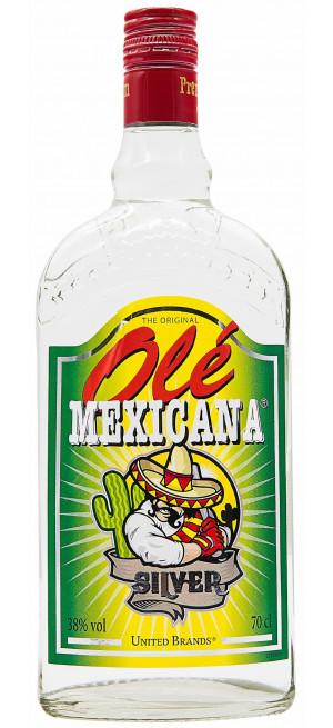 """Текила Tequilas del Senor, """"Ole Mexicana"""" Silver, 0.7 л"""