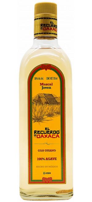 Текила El recuerdo de Oaxaca Gold with worm, 0.75 л