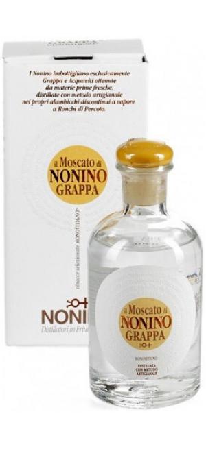 """Граппа """"Il Moscato di Nonino"""" Monovitigno, gift box, 100 мл"""