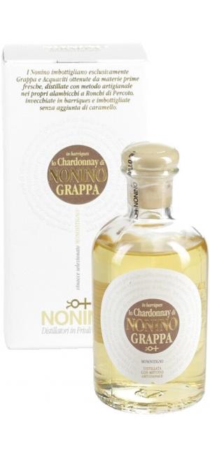 """Граппа """"Lo Chardonnay di Nonino"""" in barriques Monovitigno, gift box, 100 мл"""