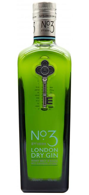 Джин №3 London Dry Gin, 0.7 л