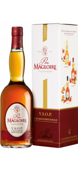 """Кальвадос """"Pere Magloire"""" VSOP, with gift box, 0.7 л"""