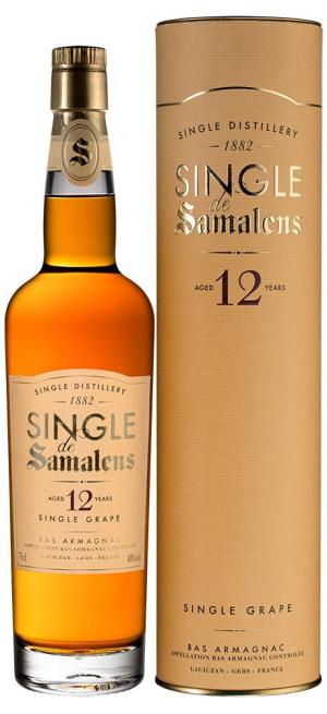 "Арманьяк ""Single de Samalens"" 12 Years Old, Bas Armagnac AOC, in tube, 0.7 л"
