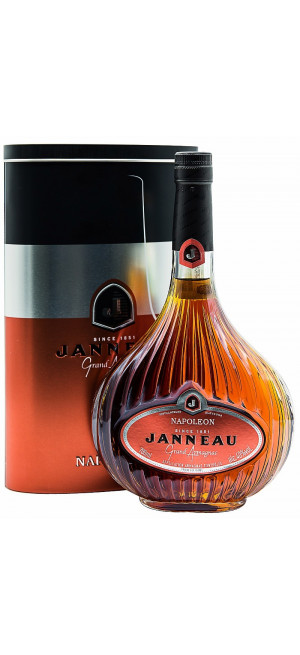 Арманьяк Armagnac Janneau Napoleon in metal box, 0.7 л