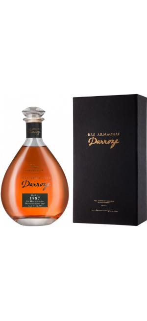 "Арманьяк Darroze, Bas-Armagnac ""Domaine de Petit Lassis"", 1987, in decanter & gift box, 0.7 л"