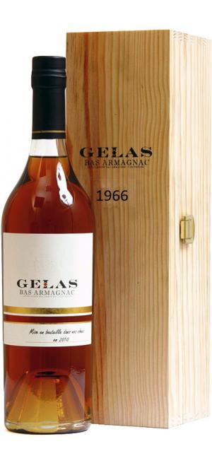 Арманьяк Gelas, Bas Armagnac, 1966, gift box, 0.7 л