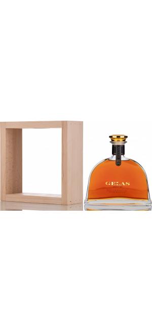 Арманьяк Gelas, Bas Armagnac 8 ans, in decanter & wooden case, 0.7 л