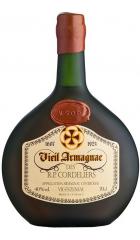 """Арманьяк Gelas, """"Vieil Armagnac des R.P. Cordeliers"""" VSOP, 0.7 л"""