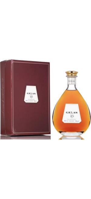 Арманьяк Gelas, Bas Armagnac 25 ans, in decanter & gift box, 0.7 л