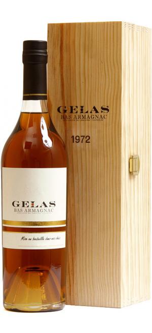 Арманьяк Gelas, Bas Armagnac, 1972, gift box, 0.7 л