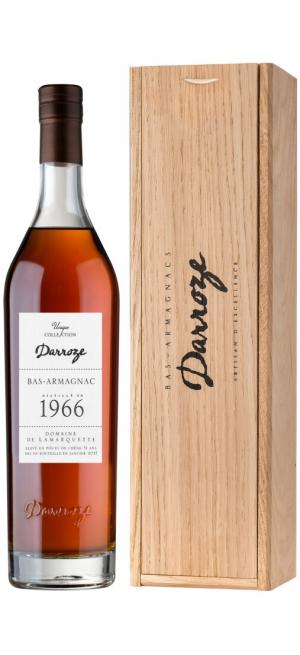 "Арманьяк Darroze, Bas-Armagnac ""Domaine de Lamarquette"", 1966, wooden box, 0.7 л"