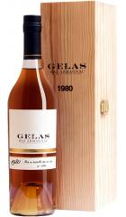 Арманьяк Gelas, Bas Armagnac, 1980, gift box, 0.7 л