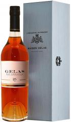 Арманьяк Gelas, Bas Armagnac 25 ans, wooden box, 0.7 л