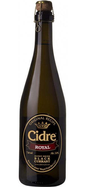 "Сидр ""Cidre Royal"" with Black Currant, 0.75 л"