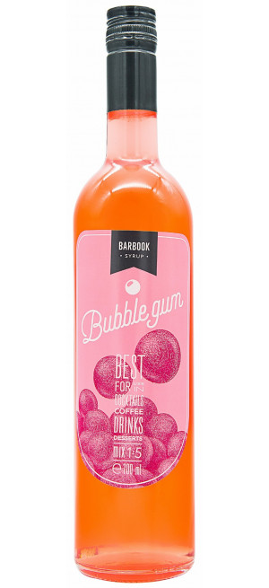 "Сироп ""BarBook"" Bubble Gum, 0.7 л"