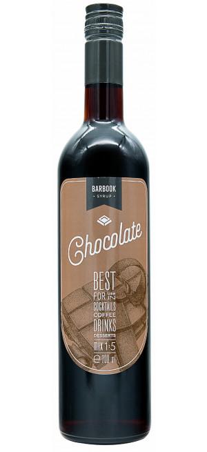 "Сироп ""BarBook"" Chocolate, 0.7 л"