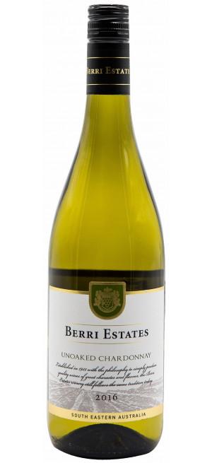 Вино Berri Estates Chardonnay, 2016, 0.75 л
