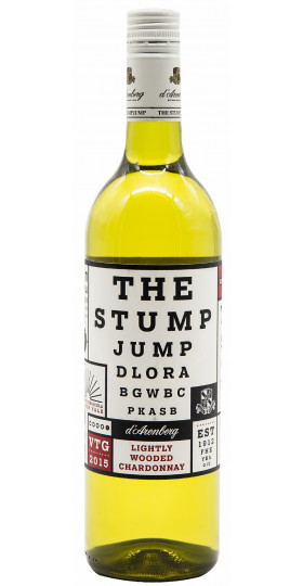 "Вино D'Arenberg, ""The Stump Jump"" Lightly Wooded Chardonnay, 2017, 0.75 л"