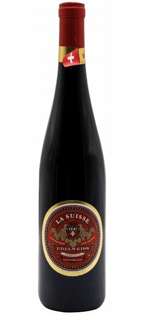 """Вино """"La Suisse"""" Edelweiss Pinot Noir VdP"""