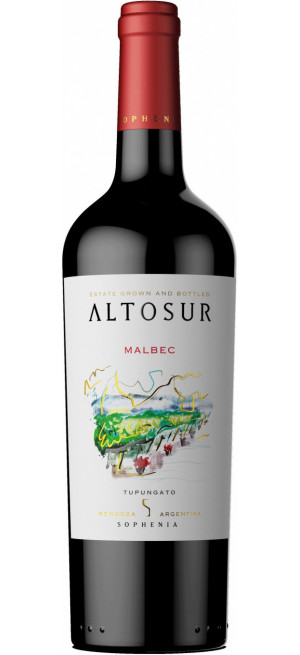 """Вино """"Altosur"""" Malbec, 2018, 0.75 л"""
