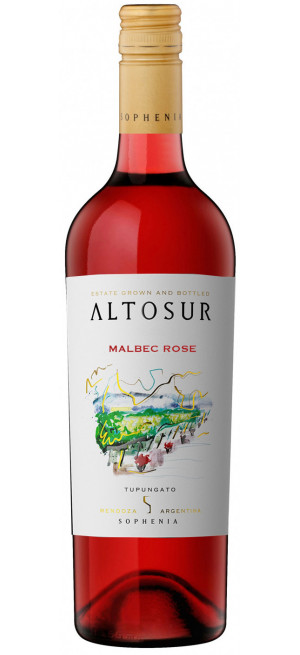 "Вино Sophenia, ""Altosur"" Malbec Rose, 2016"