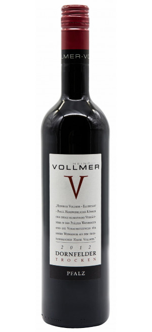 "Вино Heinrich Vollmer, ""V"" Dornfelder"