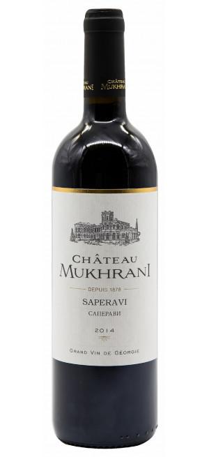 Вино Chateau Mukhrani, Saperavi