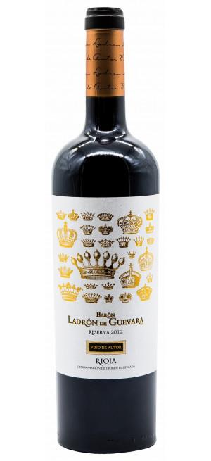"Вино ""Baron Ladron de Guevara"" Reserva, Vino de Autor, Rioja DOC, 2012, 0.75 л"