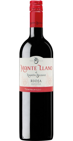 "Вино Bodegas Ramon Bilbao, ""Monte Llano"" Red, Rioja DOC, 2017, 0,75 л"