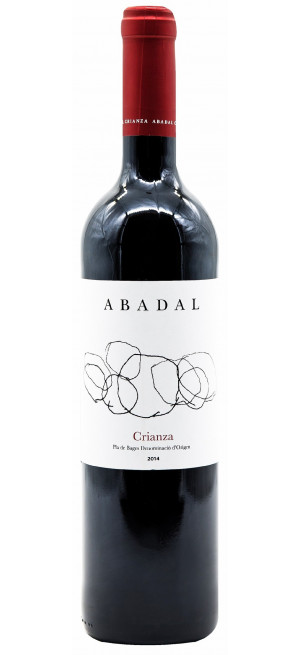 "Вино ""Abadal"" Crianza, Pla de Bages DO, 2015, 0.75 л"