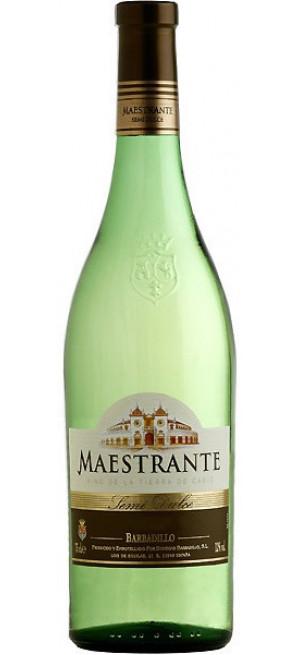 """Вино Barbadillo, """"Maestrante"""" Blanco Semi-Dulce, 0.75 л"""