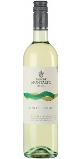 Вино Barone Montalto, Pinot Grigio, Terre Siciliane IGT, 2017