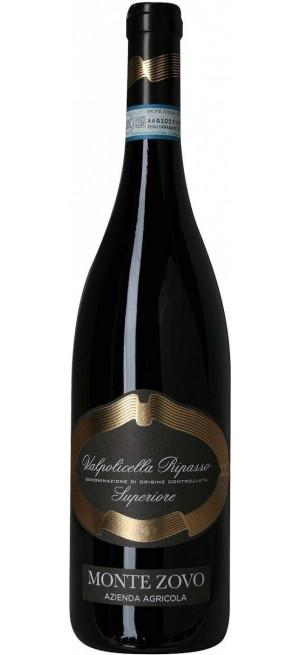 Вино Monte Zovo, Valpolicella Ripasso DOC Superiore, 2017, 0.75 л