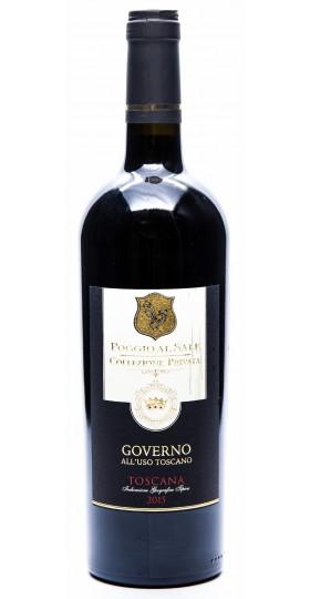 """Вино """"Poggio al Sale"""" Collezione Privata, Governo all'Uso Toscano, Toscana IGT"""